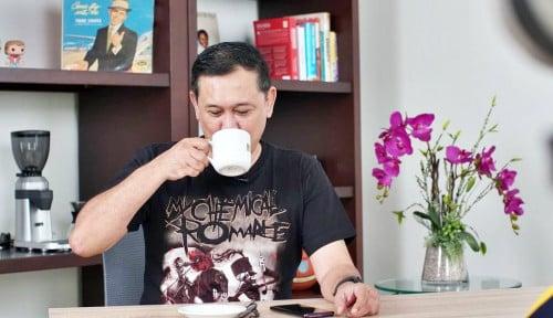 Denny Gembira Dengar Novel Cs Dibungkus: Akhirnya Bisa Pelototi Pesta di Wilayah Mas Anies Nih