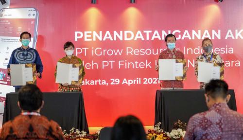 LinkAja Akuisisi iGrow Permudah Akses Pembiayaan dan Membantu Pertumbuhan UMKM di Indonesia