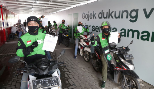 Gojek Sasar Vaksinasi ke 1.500 Driver Per Hari