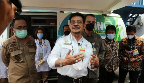 Sidak Karantina Tanjung Priok, Mentan Perketat Pengawasan Komoditas Pertanian