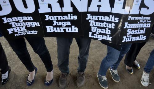 Tega Banget! Hari Gini Masih Ada Jurnalis yang Digaji Rp500 Ribu Per Bulan