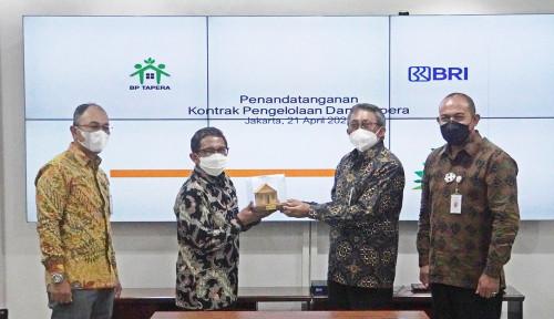 Siap Beroperasi, BP Tapera Teken Kontrak Pengelolaan Dana Bersama BRI sebagai Kustodian Tunggal