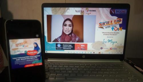 Telkomsel Hadirkan Talkshow Skill Up, Ajang Pengembangan Para Entrepreneur Sumatera di Era Digital