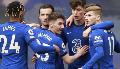 Bekuk Fulham, Chelsea Mantap Bertengger di Empat Besar Liga Inggris
