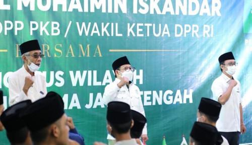 Muhaimin Iskandar Sowan ke Jateng, PKB dan NU Klaim Makin Solid