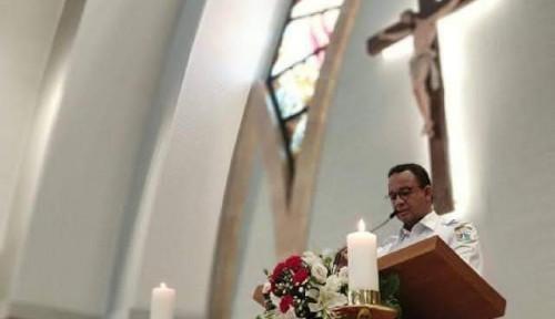 Jadi Pembicara di Gereja Auto-Murtad? Lihat Nih! Denny Pamerin Foto Anies: Doi Murtad Juga?