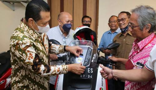 Terima Para Pembalap Senior (Legend Riders), Bamsoet Ajak Bangkitkan Perekonomian Rakyat