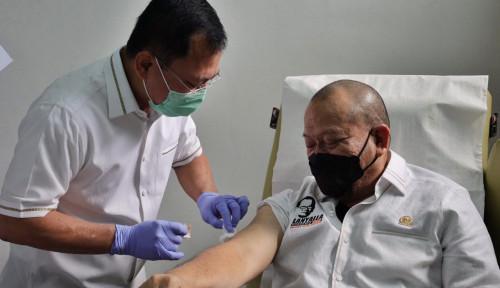 Ketua DPD RI Lakukan Suntik Vaksin Nusantara