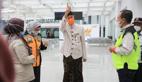 Penumpang Covid-19 Lolos, Ganjar Murka ke Petugas Bandara