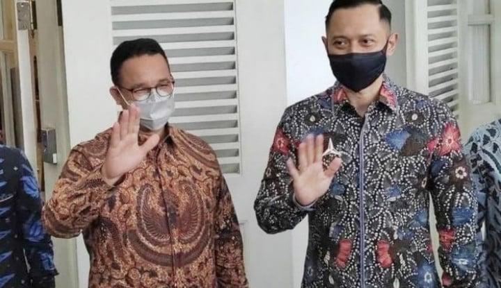 Anies Baswedan-AHY Ketemuan, Jadi Silaturahmi Politik dan Penjajakan Awal