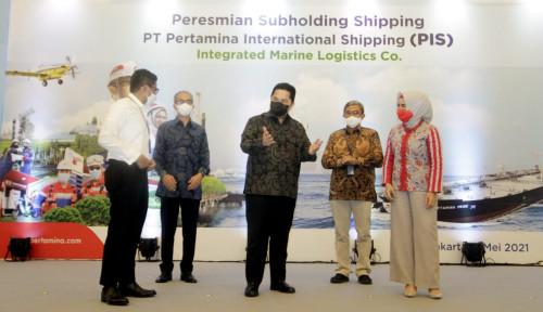 Menteri BUMN Resmikan PT Pertamina International Shipping sebagai Subholding Shipping Pertamina