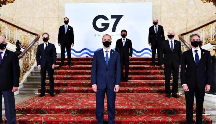 Awas, Kelompok G7 Satukan Suara Lawan Dominasi Kuat China