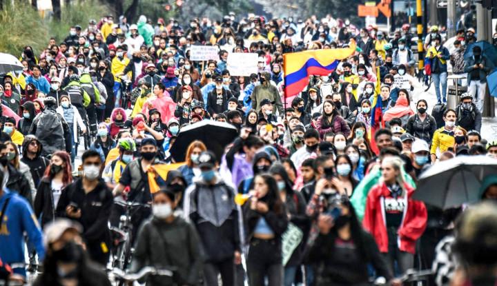 Kolombia Memanas, Aksi Demonstrasi Selama Sepekan Tewaskan 24 Orang