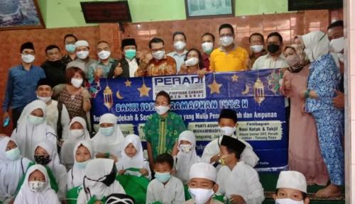 Peradi Jakarta Barat Gelar Bakti Sosial di Tengah Bulan Ramadan