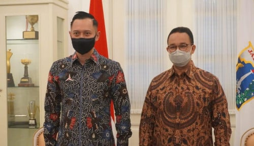 AHY Terang-terangan Puji Kinerja Anies Pimpin DKI Jakarta