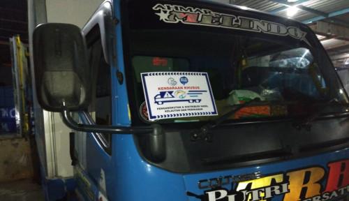 Siapkan Stiker Khusus, KKP Jamin Kelancaran Angkutan Logistik Ikan Jelang Idul Fitri
