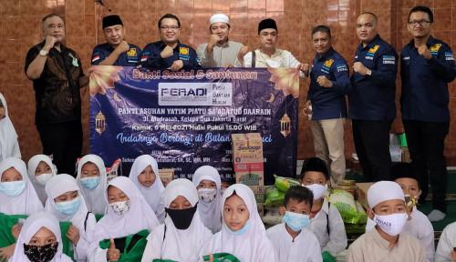 Berbagi Berkah Ramadan, Pusat Bantuan Hukum PERADI Gelar Bakti Sosial