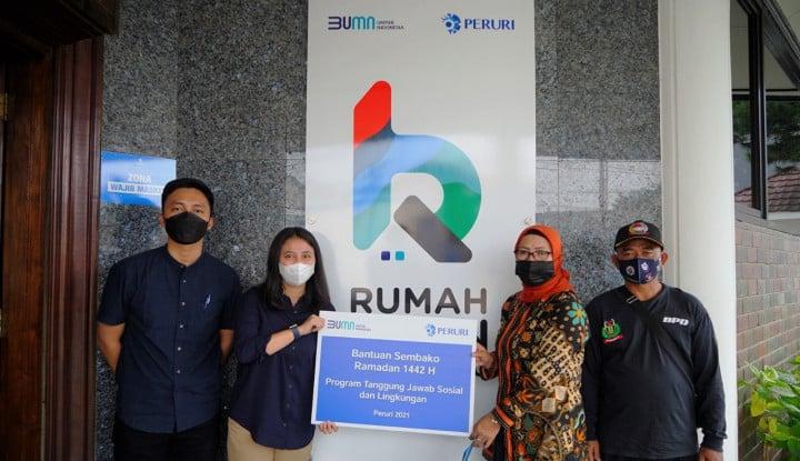 Berkah Ramadan, Peruri Salurkan Bantuan Bagi Masyarakat dan Anak Yatim di Karawang