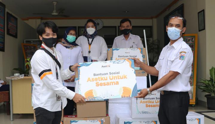 Masih Di Tengah Pandemi, AsetKu Berikan Bantuan Sosial ke Panti-Panti Sosial