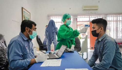 Ikut Sukseskan Program Vaksinasi Nasional, Inalum Suntik Vaksi ke 2.000 Pegawai