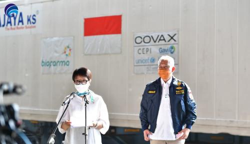 Alhamdulillah! 1,39 Juta Dosis Vaksin dari Covax Facility Tiba di Indonesia