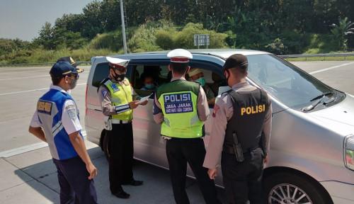 Alasan Polisi Libatkan Personel Bersenjata saat Hadang Pemudik, Polri Buka-bukaan
