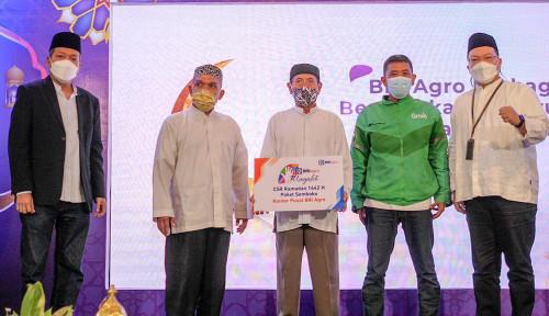 BRI Agro Bagikan 2.000 Paket Sembako kepada Para Pekerja Lepas