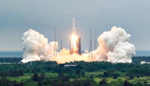 Segudang Kritikan dari AS Targetkan Roket Long March 5B Milik China yang Jatuh ke Bumi