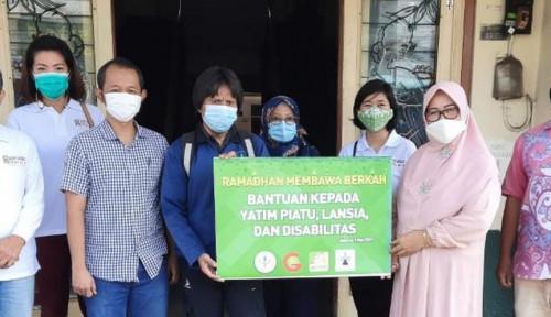 Forwatan Gandeng Asosiasi Hilir Sawit Salurkan Bantuan ke 4 Yayasan
