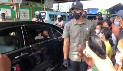 Presiden Jokowi Mendadak Keluar Istana, Bikin Histeris Para Emak-emak: Allahu Akbar...