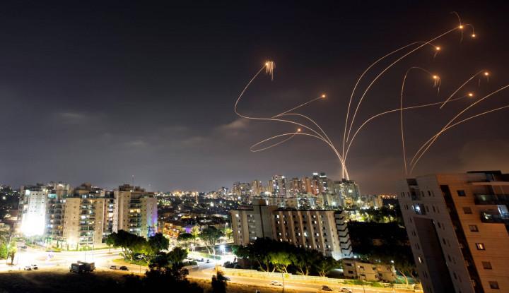 Bikin Begidik, Mohon Doanya! Ribuan Rudal dari Gaza Mengudara Selama 2 Hari Berturut-turut