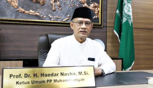 Pesan Sejuk Ketum Muhammadiyah Sambut Idul Fitri 1442 H: Lebaran Bawa Kemajuan Peradaban...