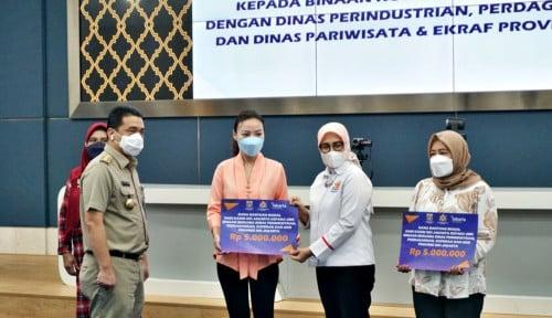 Kadin DKI Jakarta Berikan Pemodalan Senilai Rp150 Juta bagi 30 UMKM