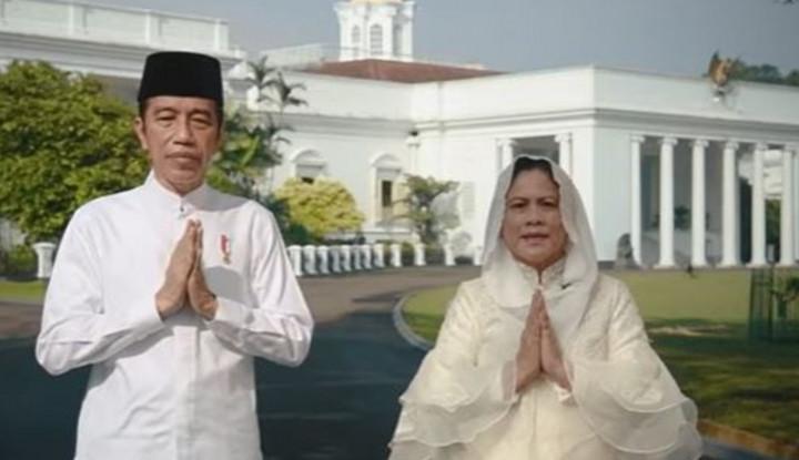 Tak Mudik Jokowi Akhirnya Sapa Cucu-cucu Lewat Virtual