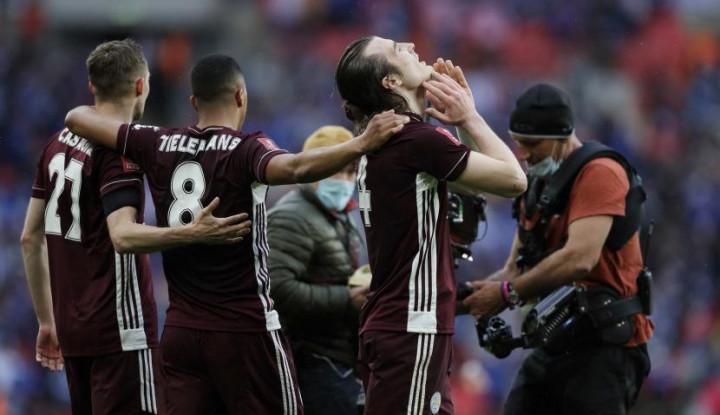 Kalahkan Chelsea 1-0, Leicester Torehkan Sejarah Pertama Juara Piala FA