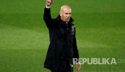 Sudah Pamitan, Zidane Mau Tinggalkan Madrid?
