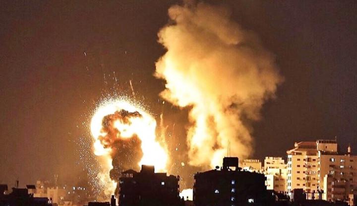 Ya Tuhan, Laboratorium Tes Covid-19 Milik Rakyat Gaza Dimusnahkan Israel