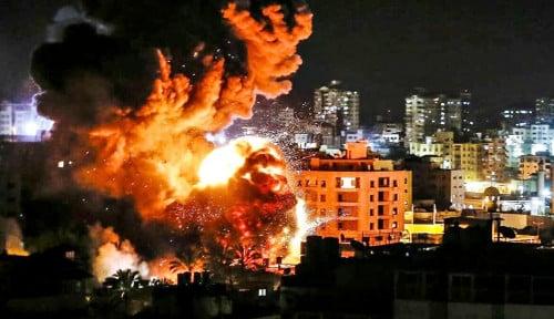 Memanas, Serangan Udara Baru Israel Hantam Gaza