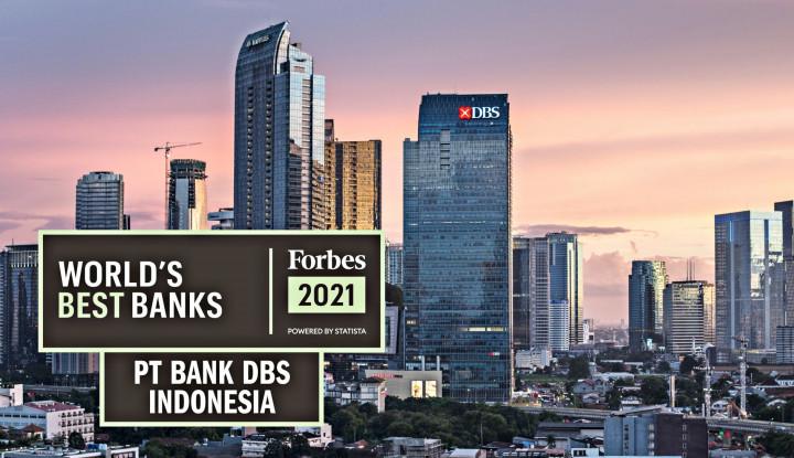 Bank DBS Indonesia dinobatkan sebagai #1 World's Best Banks di Indonesia