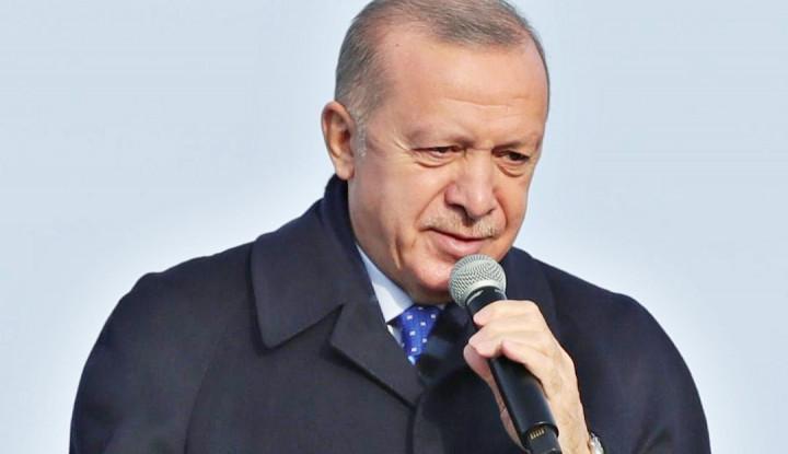 Erdogan: Komunitas Internasional Sudah Gagal Hadapi....