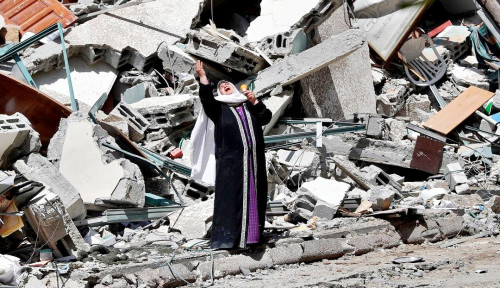 HRW Pastikan Serangan Israel Terhadap Banyak Bangunan Gaza Adalah Kejahatan Perang