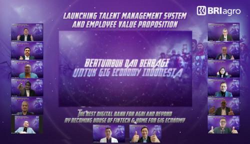 Siap Jadi Bank Digital, BRI Agro Launching Talent Management System & Employee Value Proposition
