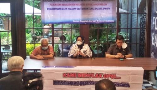 FPGIKJ: Pensiunan Garuda Indonesia Konsisten Tolak Restrukturisasi Jiwasraya