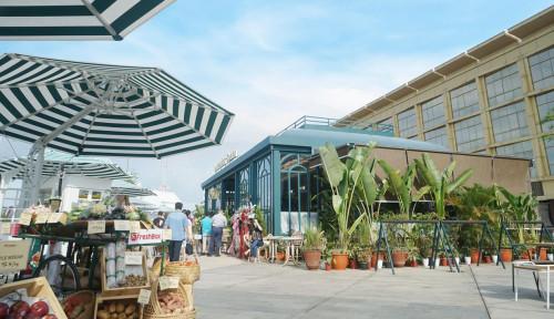 Urban Farm Pusat Kuliner dan Ruang Kreasi dengan Konsep Ramah Lingkungan