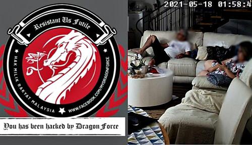 Hancur! 5.000 CCTV Israel Compang-Camping di Tangan Hacker DragonForce Malaysia
