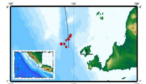 Selat Sunda Dua Kali Dihantam Gempa, BMKG Ungkap Penyebabnya