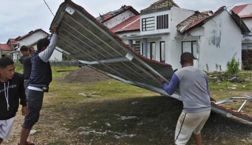 AFC Indonesia Bangun 50 Rumah Korban Bencana di Kupang