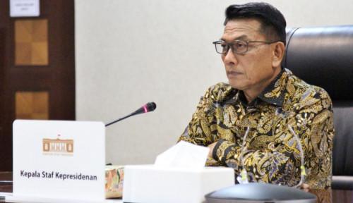 Sabar Banget Hadapi ICW, Benar-Benar Sikap Pak Moeldoko Patut Diteladani..