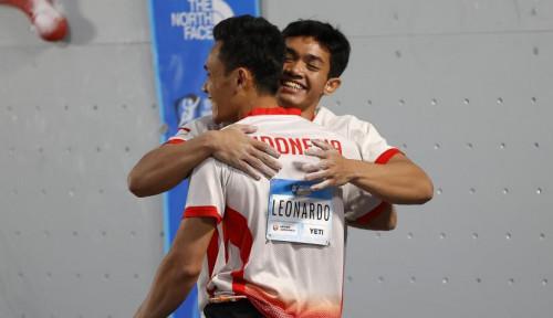 Selamat! Dua Atlet Panjat Tebing Indonesia Cetak Rekor Dunia