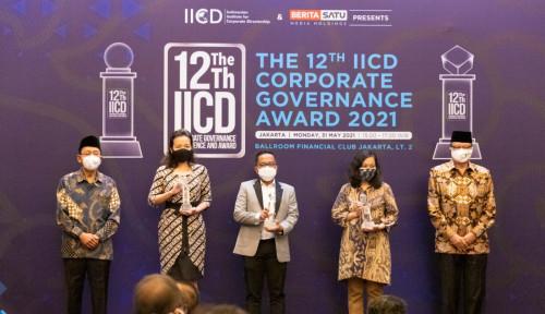 BRI Raih Penghargaan Sebagai Best Overall di Bidang Tata Kelola Perusahaan dari IICD